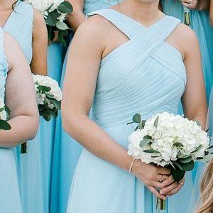 Azazie Dresses - Sky Blue Azazie Bridesmaid Dress